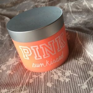 PINK Makeup - Pink sun kissed luminous body butter